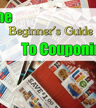 Beginner's Guide to Couponing