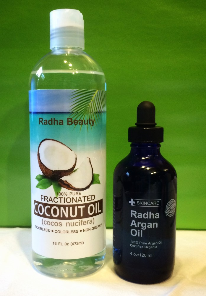 Argan oil or coconut oil