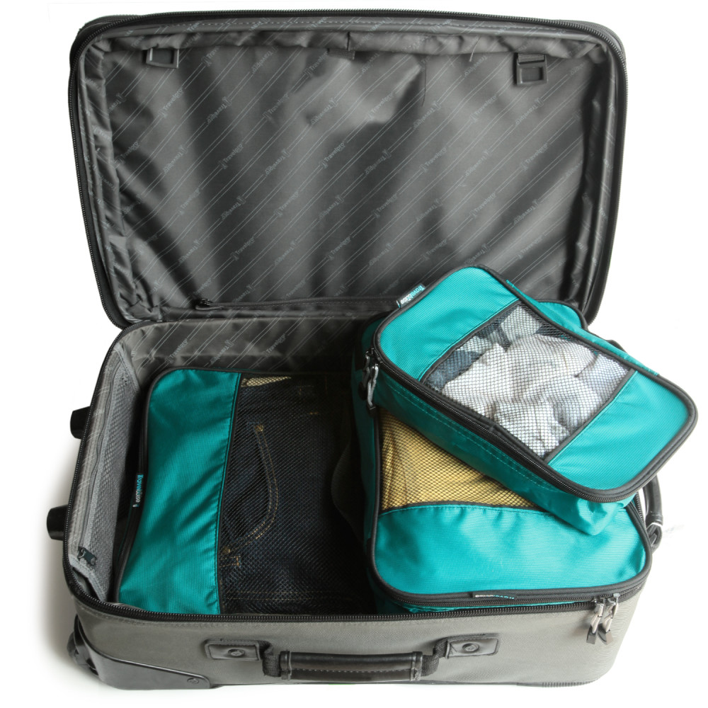 TravelWise 3 Piece Weekender Packing Cube Set