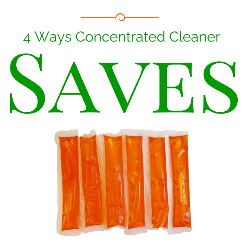 4 Ways Using Concentrated Cleaner Saves