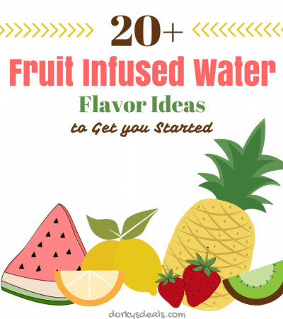 20+ Fruit Infused Water Flavor Ideas to Get You Started