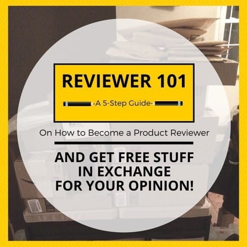 REVIEWER 101: A 5-Step Guide on How to Become a Product Reviewer on Amazon and Get Free Stuff in Exchange for your Review