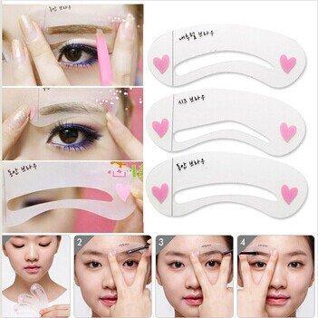 Eyebrow Shaping Template - $1
