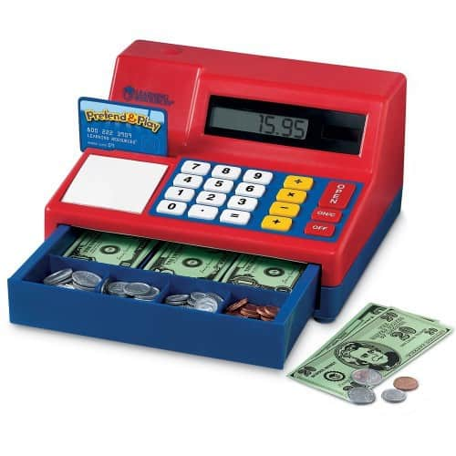 Learning Resources Pretend & Play Calculator Cash Register - $26