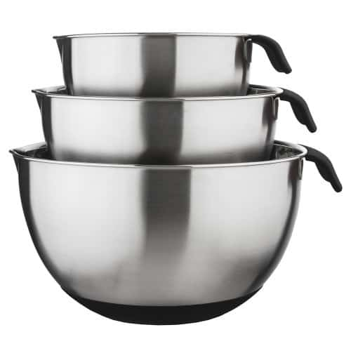 Stainless Steel Mixing Bowls - $35