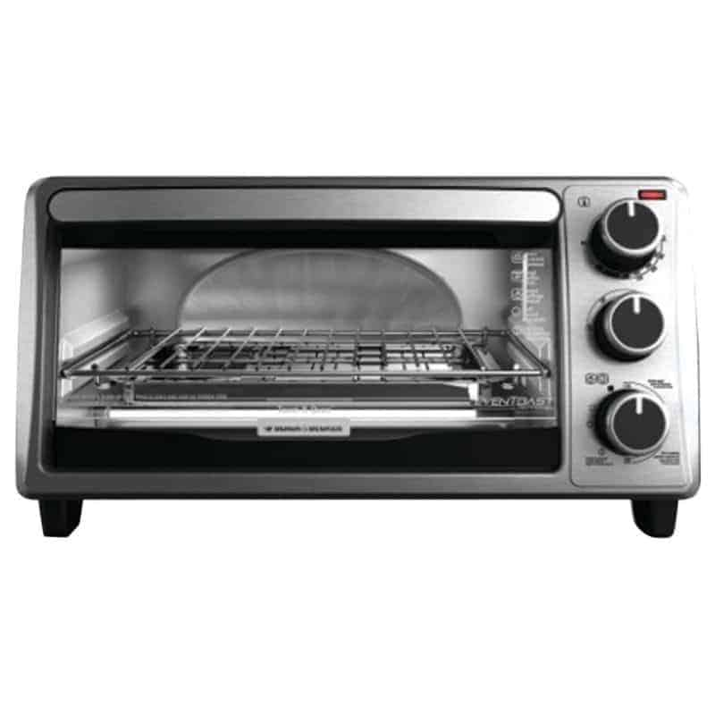 BLACK+DECKER 4-Slice Toaster Oven - $25