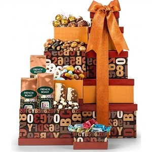 Coffee Lover's Gift Tower – $50