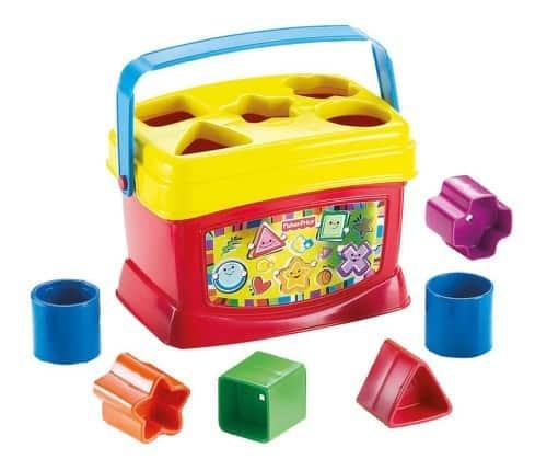 Fisher-Price Brilliant Basics Baby's First Blocks - $8