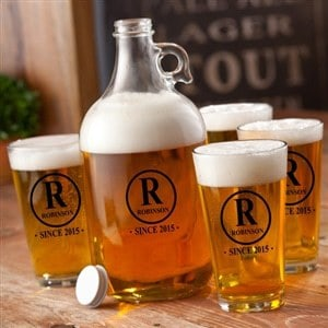 Initial Personalized Growler Set – $49