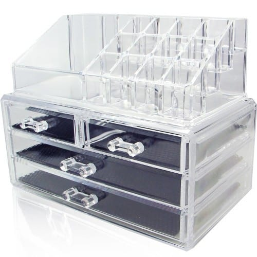 Jewelry & Cosmetic Storage Display Boxes - $18