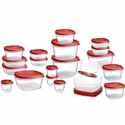 Rubbermaid Easy Find Lid Food Storage Set - $20