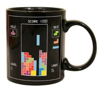 Tetris Heat Change Mug - $9