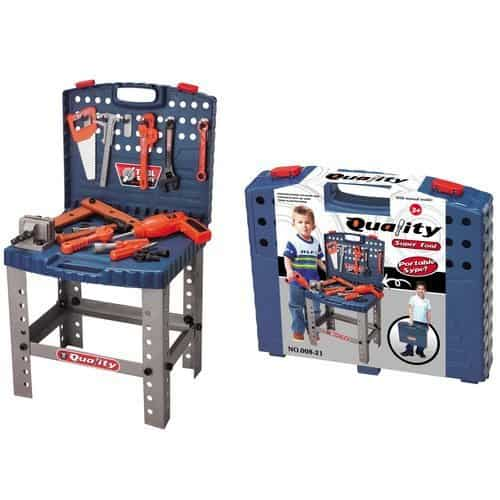 Toy Tool Set Workbench Kids Workshop Toolbench - $24