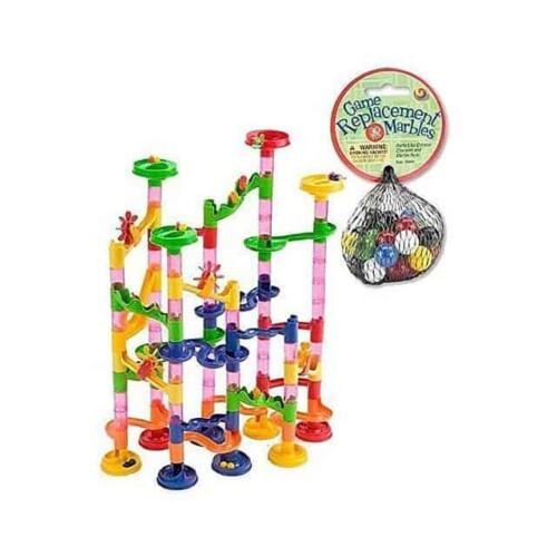 Mega Fun Marble Run 75 Piece Set - $30