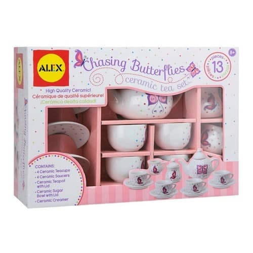 ALEX Toys Chasing Butterflies Ceramic Tea Set - $15