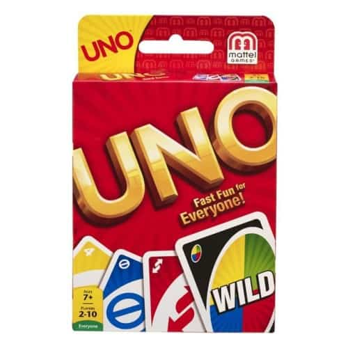Uno Card Game - $6