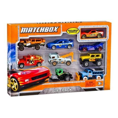 Matchbox 9-Car Gift Pack - $8