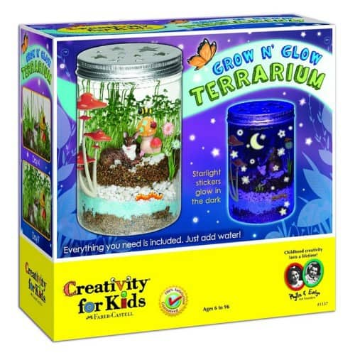 Creativity For Kids Grow 'n Glow Terrarium - $15