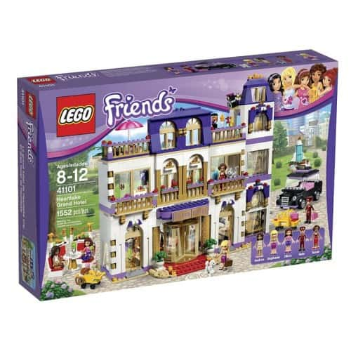 LEGO Friends Heartlake Grand Hotel Building Kit - $124