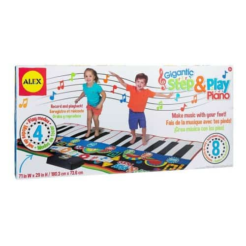 ALEX Toys Gigantic Step & Play Piano - $54