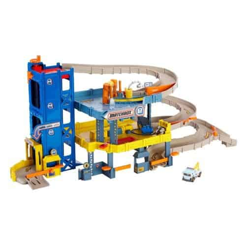 Matchbox 4-Level Garage Play Set - $43