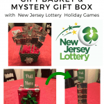 DIY Lottery Ticket Gift Basket & Mystery Gift Box with New Jersey Lottery Holiday Games
