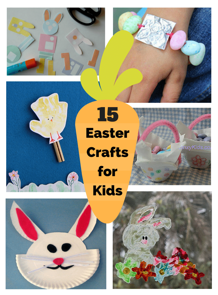 15 Easter Crafts for Kids