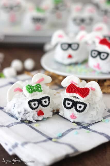 Easter Bunny Brownies