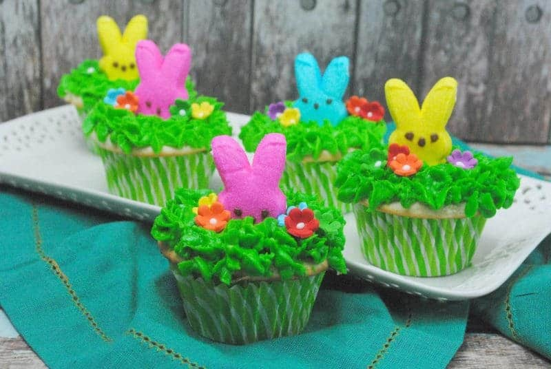 Peek-a-Boo Peeps Easter Cupcake Recipe