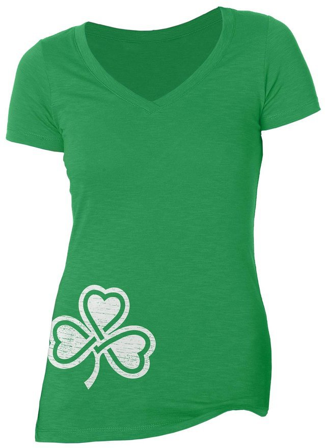 Shamrock V-Neck T-Shirt