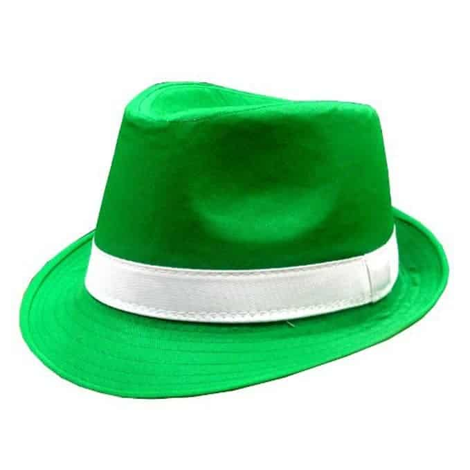 St. Patrick's Day Irish Kelly Green Fedora