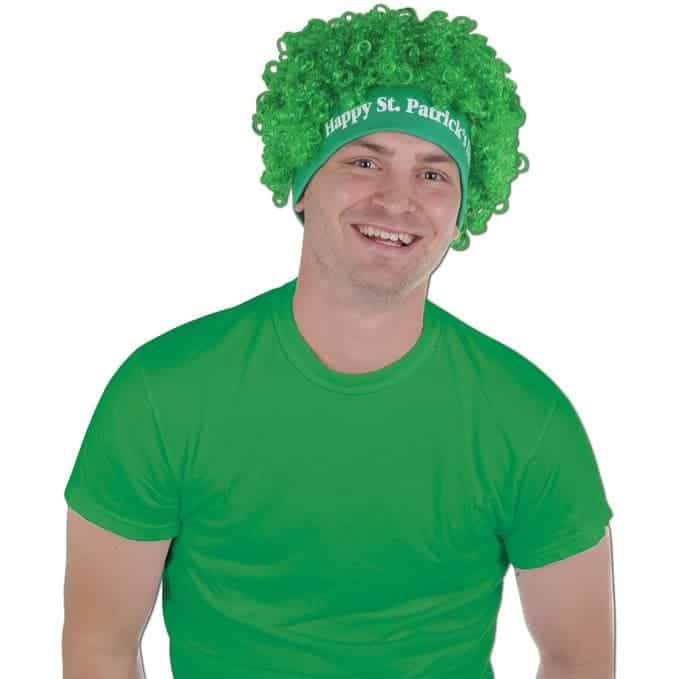 St. Patrick's Day Wig