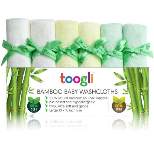 Toogli Bamboo Washclothes