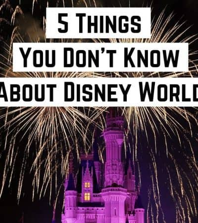 5 Things You Don't Know About Disney World
