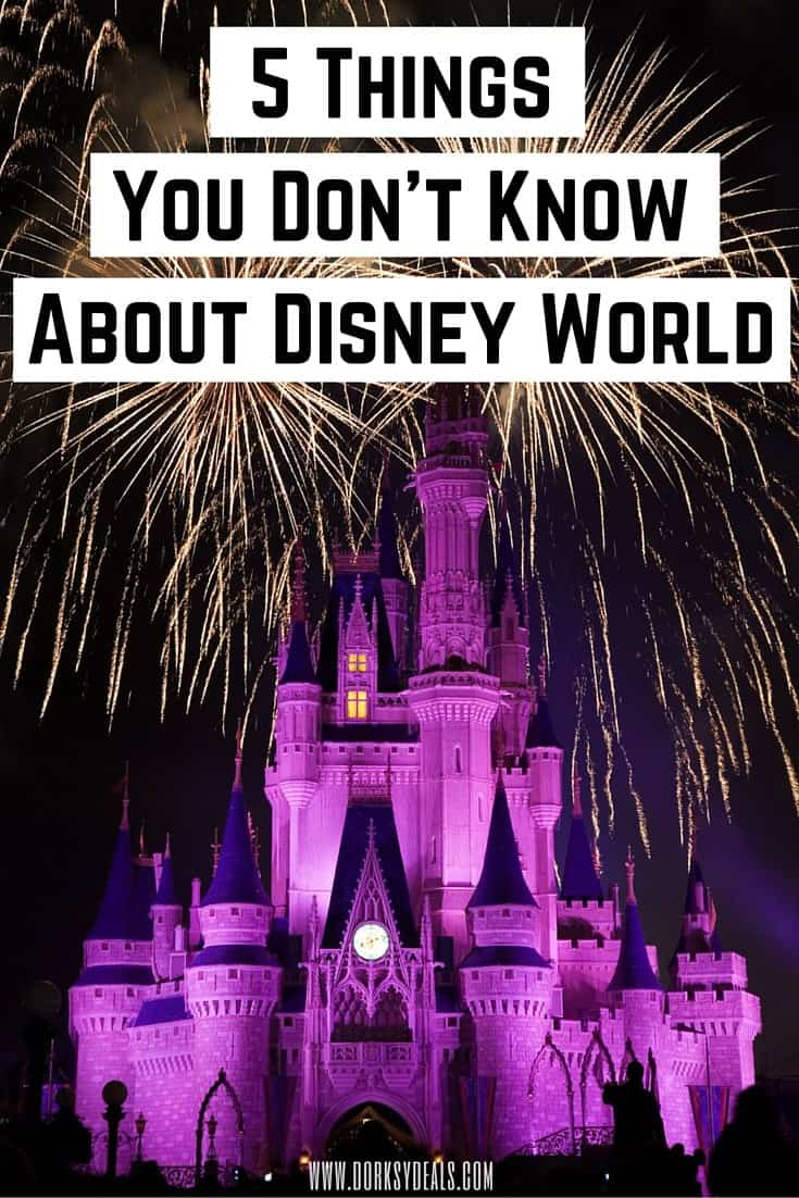 Think you know everything about the most magical place on Earth? Read on to discover 5 things that you didn't know about Walt Disney World.