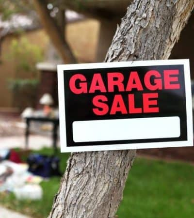 How to Increase Foot Traffic at Your Garage sale
