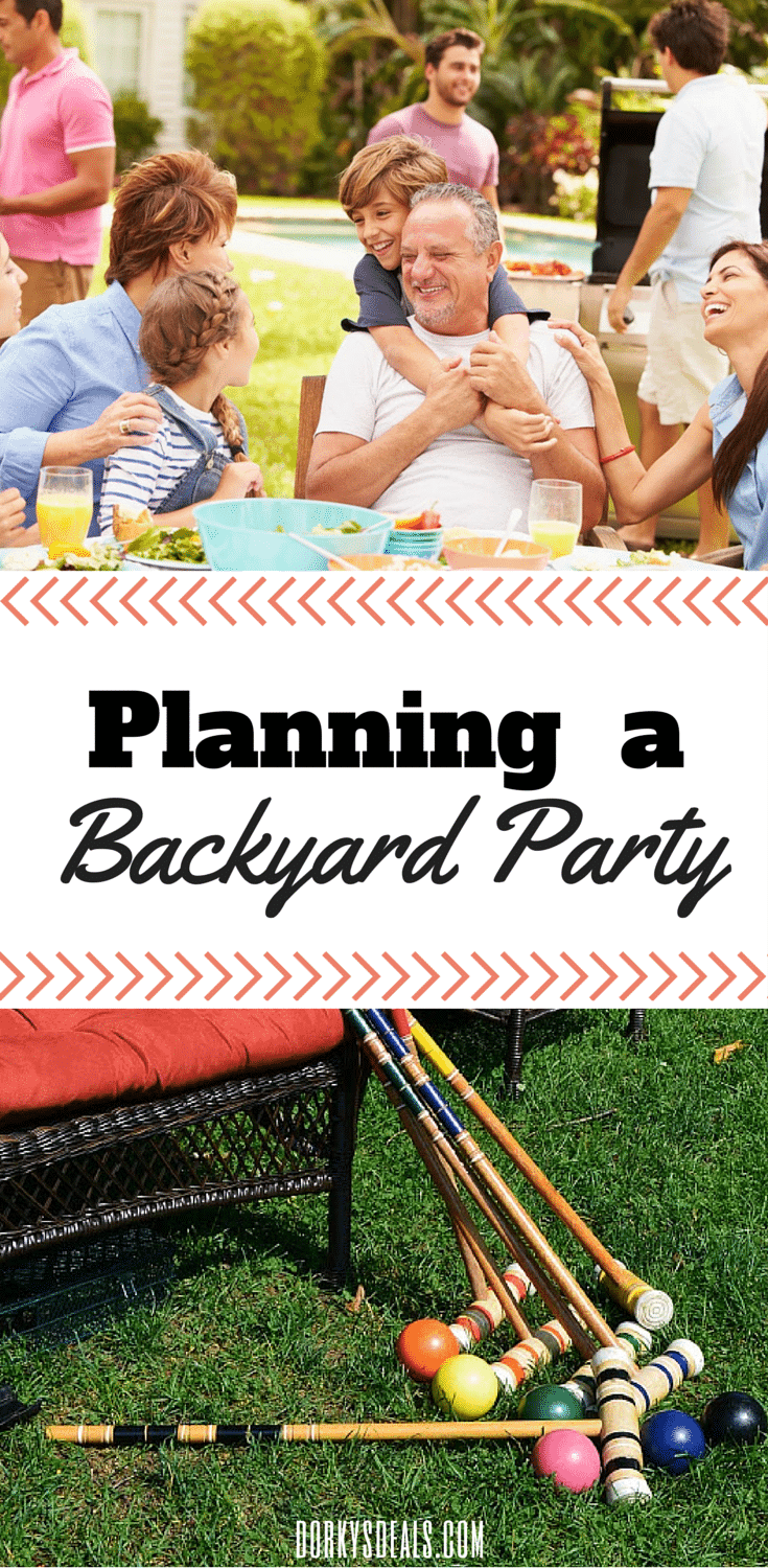 Planning a Backyard Party