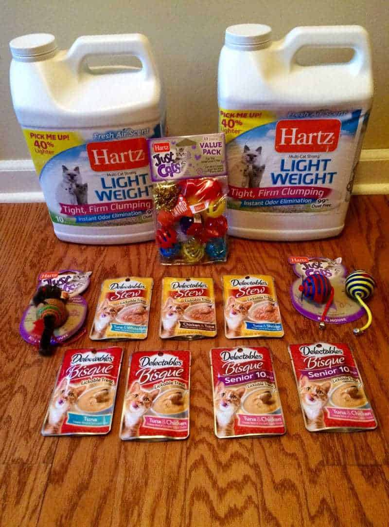 Hartz Cat Toys, Cat Litter, and Cat Treats