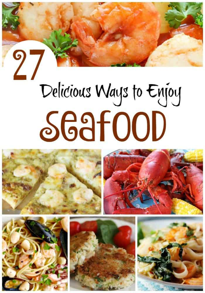 Looking for a tasty seafood recipe? From fish to shellfish, we have rounded up 27 absolutely delicious seafood recipes from food bloggers.
