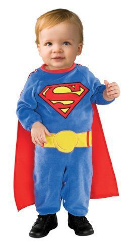 Rubieu0027s Costume Co. Superman Romper Costume With Removable Cape  sc 1 st  Crayons u0026 Cravings : jolly rancher halloween costume  - Germanpascual.Com