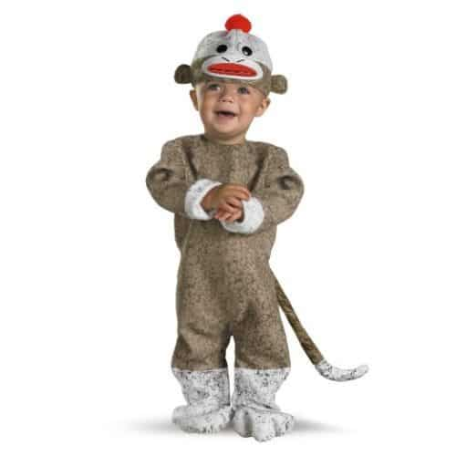 Sock Monkey Costume