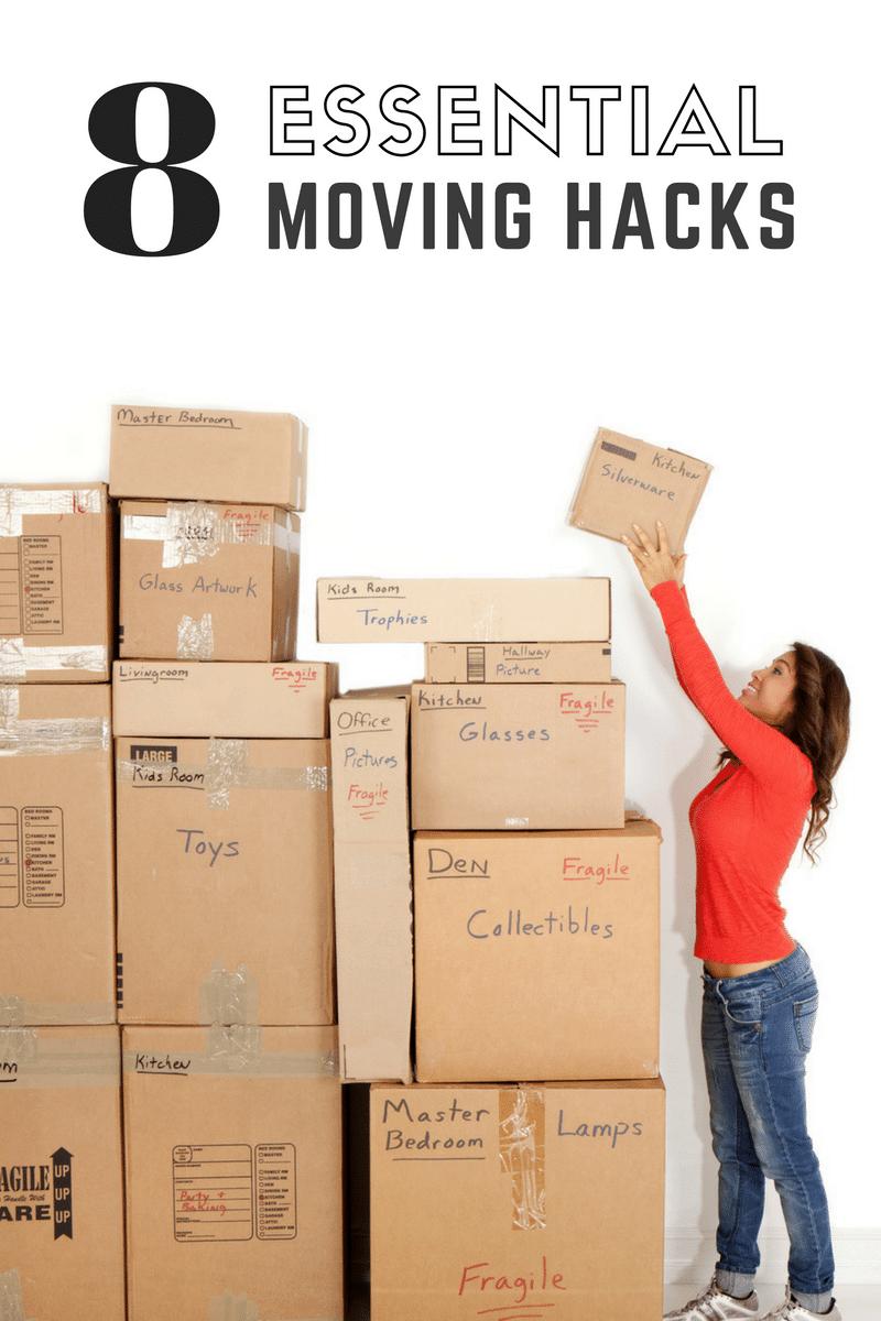 8 Essential Moving Hacks