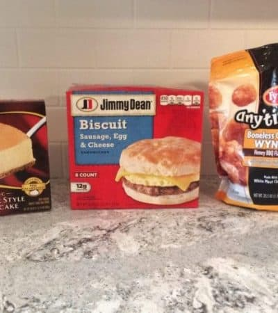 Jimmy Dean, Tyson & Sara Lee products