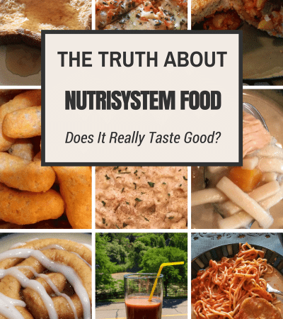 Does Nutrisystem Food Taste Good?