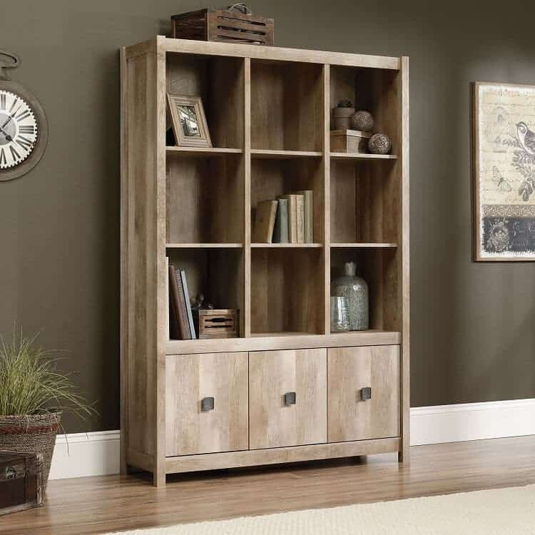 Rustic Wooden Bookshelf