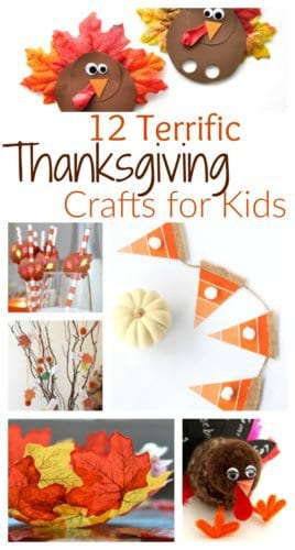 Thanksgiving crafts for kids to help get them in the Thanksgiving spirit. From paper crafts to DIY Thanksgiving decor, there is something for all kids.