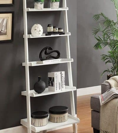 ladder bookcase - 11 contemporary bookshelves
