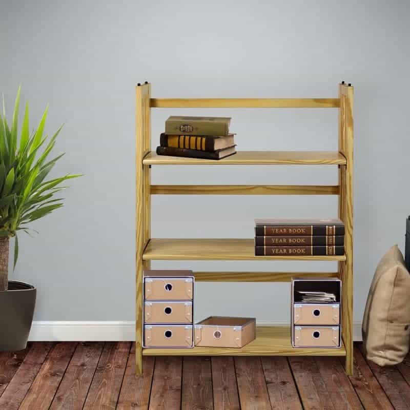 Foldable Bookcase 11 contemporary bookshelves