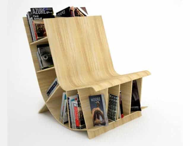 bookseat bookshelf - 11 contemporary bookshelves