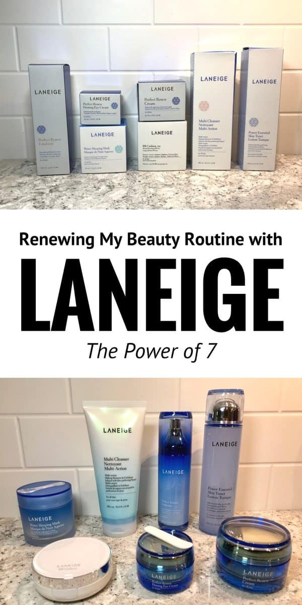 Renewing My Beauty Routine with Laneige